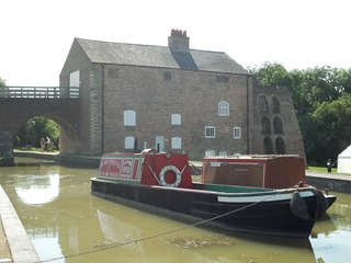 Bridgehouse and Barge